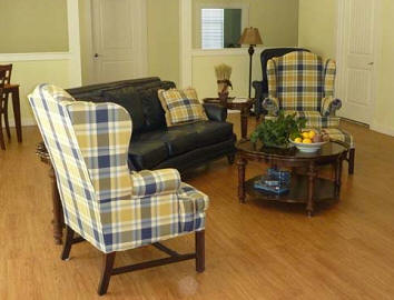 Common area at Morning Star Memory Care in Fredericksburg, TX.